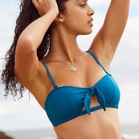 Out From Under Tie-Front Bandeau Bikini Top | Urban Outfitters