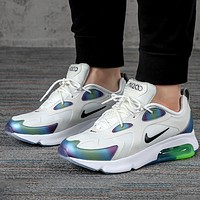 Nike AIR MAX 200 3M reflective casual air cushion running shoes
