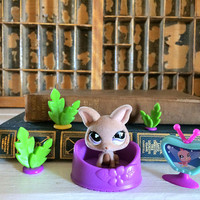Littlest Pet Chihuahua Set, Littlest Pets, Littlest Pet Pairs, Lps On The Go, LPS, Littlest Pet Chihuahua, LPS Dog, Collectible LPS, Dog