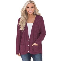 Cardigan Sweater- Claras