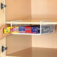 Under Shelf Wrap Rack