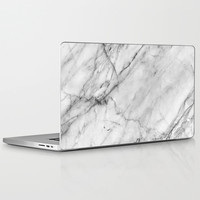 Marble Laptop & iPad Skin by Patterns And Textures   Society6