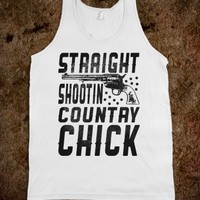 Straight Shootin Country Chick