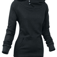 Fleece Long Sleeve Hooded Sweatshirt