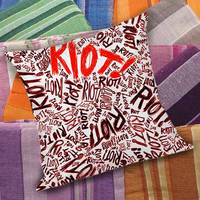 1392 Paramore Riot Quote Colorfull Romantic  decorative pillow and pillow case