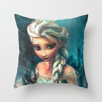 The Storm Inside Throw Pillow by Alice X. Zhang