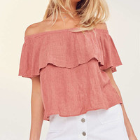 Ecote Winona Off-The-Shoulder Top | Urban Outfitters