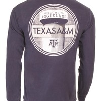Welcome to Aggieland Tower LS TShirt