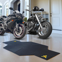 West Virginia Mountaineers NCAA Motorcycle Mat (82.5in L x 42in W)