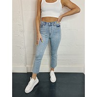 Daze Shy Girl Crop Flare