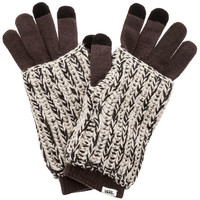 The Royer Smartphone Gloves in Oatmeal