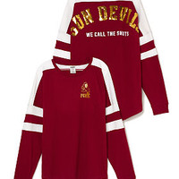 Arizona State University Pieced Varsity Crew - PINK - Victoria's Secret