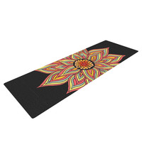 "Pom Graphic Design ""Incandescent Flower"" Yoga Mat"