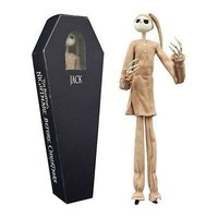 Diamond Select Toys Nightmare Before Christmas Pajama Jack Coffin Doll