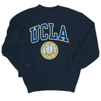 UCLA Bruins Puff Seal Crewneck Sweatshirt