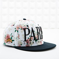 Cayler & Sons Paris City Snap Back Cap in Cream - Urban Outfitters