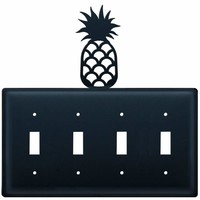 Pineapple - Quadruple Switch Cover