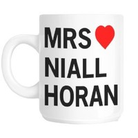 Mrs Niall Horan Love Heart Gift Mug
