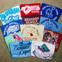 Mystery Vintage Graphic Oversized T Shirts