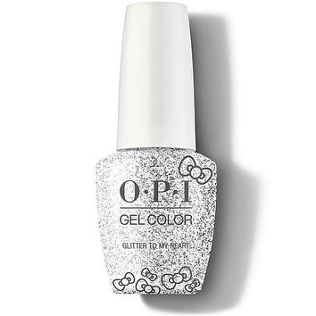 OPI GelColor - Glitter To My Heart 0.5 oz - #HPL01
