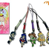 sailor Moon - set of 5 - Metal