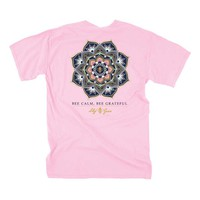 Lily Grace Bee Calm Short Sleeve T-shirt in Blossom 12144