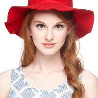 Festival Oh Classy Day Hat in Scarlet by ModCloth
