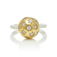 Diamond Ethel Ball Ring | Moda Operandi