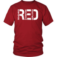 Red Shirt Friday T-Shirt