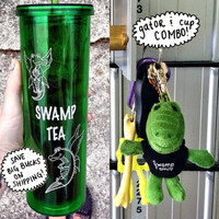 swamp family tea CUP & GATOR COMBO!