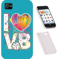 Midwest Volleyball Warehouse - I PHONE CASE - I HEART VB