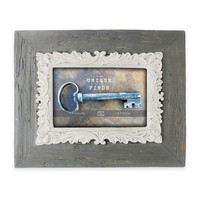 Argento Unique Finds 6-Inch x 4-Inch Scroll Rustic Marsille Frame