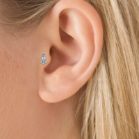 Diamond Delia Threaded Stud (Tragus)