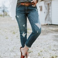 Your Favorite Boyfriend Jeans - Dark