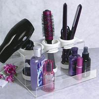 Hair Styling Station Products Space Saving Organizing Organizer Blow Dryer Iron