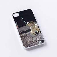 Sloth Llama Lasers on Moon iPhone 4/4S, 5/5S, 5C,6,6plus,and Samsung s3,s4,s5,s6