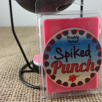 Spiked Punch Soy Wax Melts (No Phthalates, Vegan, Hand Poured, Eco Friendly),  3 oz. Smells like a Mix of Fruit Juices with a hint of Merlot