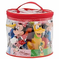 disney parks junior mickey and friends squeeze bath toy set new with plastic bag