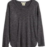 Fine-knit top - from H&M