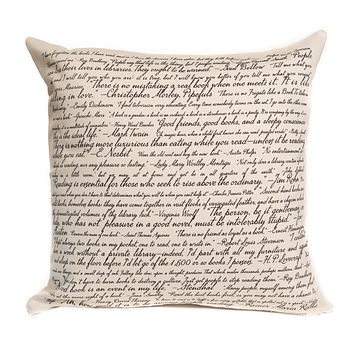 Commit To Lit Pillow