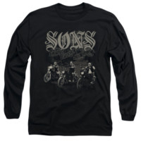 SONS OF ANARCHY SONS LIVE FREE Long Sleeve T-Shirt