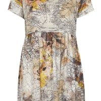 Map Print Tunic Dress - New In This Week - New In - Topshop