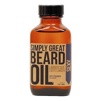 Beard Oil SEXY Scented Beard Oil For Men Formulated with Natural and Organic Base Oils Great Gift for Groomsmen or Him