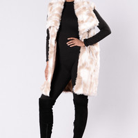 Cold And Bold Vest - Multi