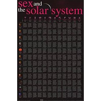 Sex and the Solar System Erotic Astrology Poster 24x36