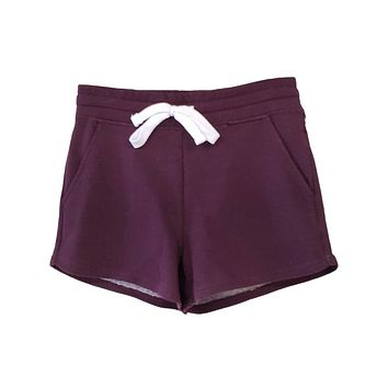 Tell All Shorts | Plum