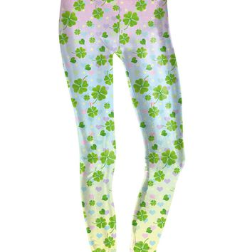 Four Leaf Skinny Leggings