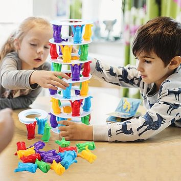 Tower Stacked Challenge Child Interactive Board Game