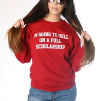 SCHOLARSHIP SWEATSHIRT