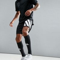 adidas Football Training Shorts With 90s Print In Black AZ9711 at asos.com